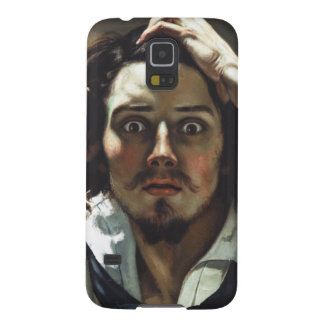 The Desperate Man by Gustave Courbet Galaxy S5 Cases