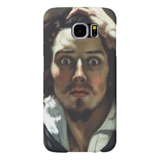 The Desperate Man by Gustave Courbet Samsung Galaxy S6 Cases