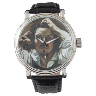 The Desperate Man by Gustave Courbet Wrist Watches