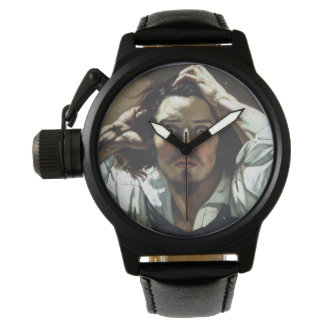 The Desperate Man by Gustave Courbet Wristwatch