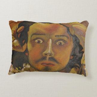 The Desperate Man Decorative Pillow