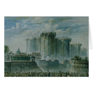 The Destruction of the Bastille, 14th July 1789 Card