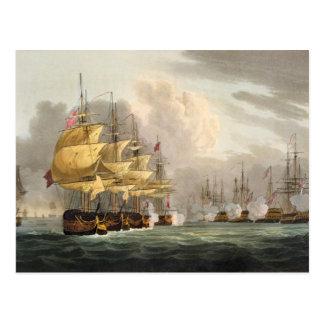 The Destruction of the Danish Fleet before Copenha Postcard