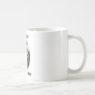 the devil laughs with us coffee mug