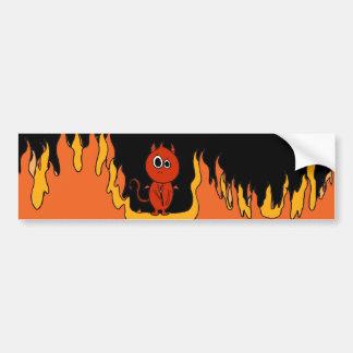 The Devil Made Me Do It! Bumper Sticker