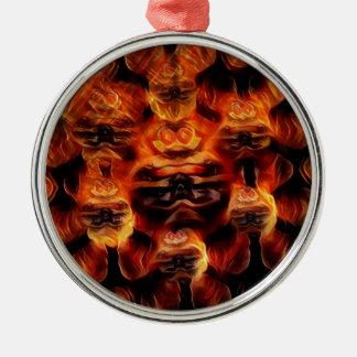 The Devil Metal Ornament