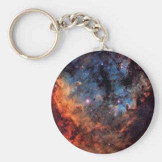 The Devil Nebula Basic Round Button Keychain