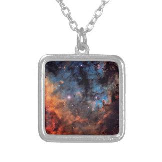 The Devil Nebula Silver Plated Necklace