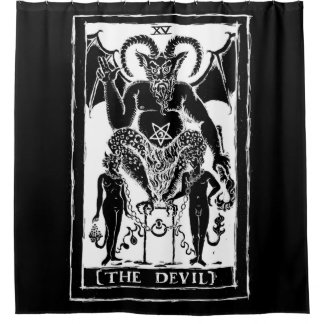 The Devil Shower Curtain