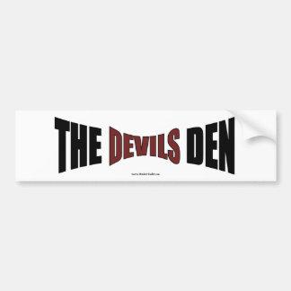 The Devils Den Bumper sticker