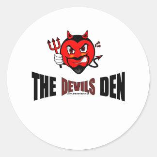 The Devils Den Sticker