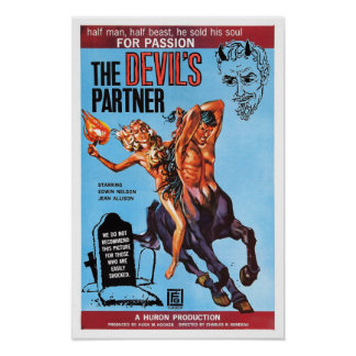 """The Devil's Partner"" Poster"