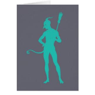 The Devil's Pose ~ Card