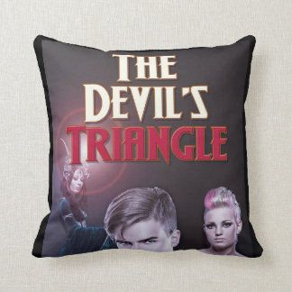 The Devil's Triangle Designer Throw Pillow