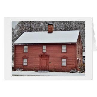 THE DEWEY HOUSE, WESTFIELD, MA. CARD