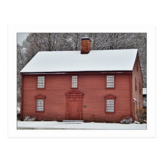 THE DEWEY HOUSE, WESTFIELD MA POSTCARD