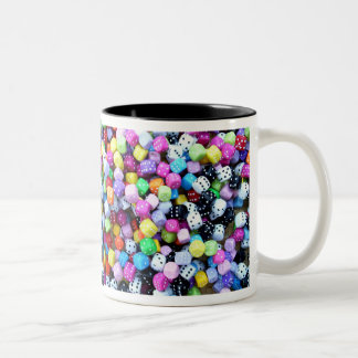 The dice are cast. Two-Tone coffee mug