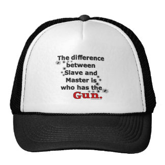 The Difference Between Slave and Master Trucker Hat