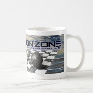 The Dimension Zone Classic White Coffee Mug