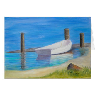 THE DINGHY Note Card