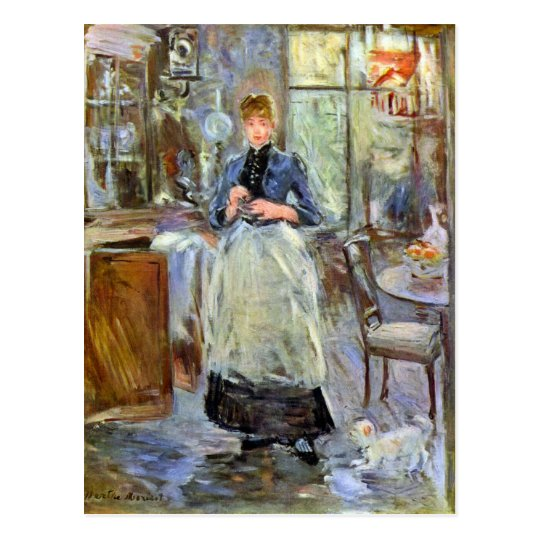 The Dining Room by Berthe Morisot Postcard