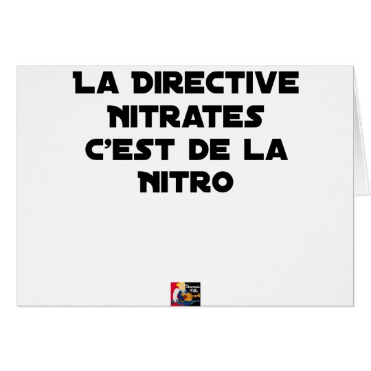 The Directive Nitrates, it is of Nitro - Plays of Card