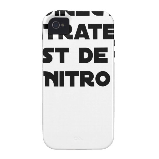 The Directive Nitrates, it is of Nitro - Plays of Case For The iPhone 4