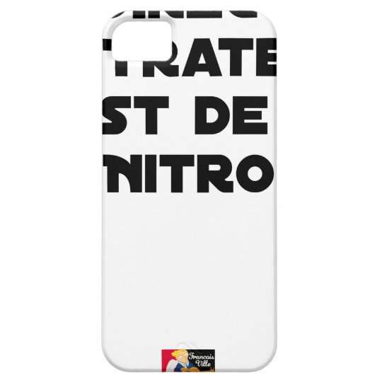 The Directive Nitrates, it is of Nitro - Plays of Case For The iPhone 5