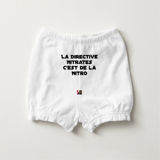 The Directive Nitrates, it is of Nitro - Plays of Diaper Cover