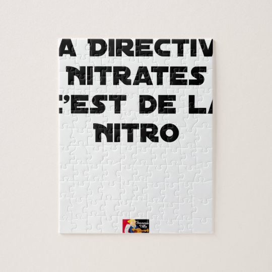 The Directive Nitrates, it is of Nitro - Plays of Jigsaw Puzzle