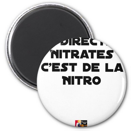 The Directive Nitrates, it is of Nitro - Plays of Magnet