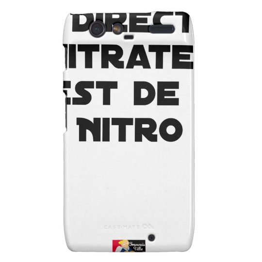 The Directive Nitrates, it is of Nitro - Plays of Motorola Droid RAZR Covers