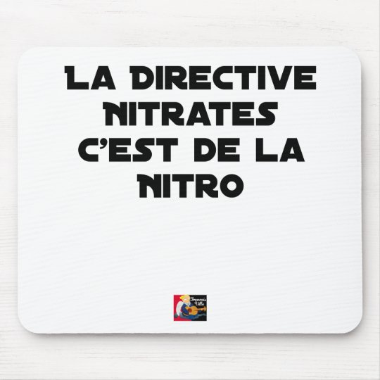 The Directive Nitrates, it is of Nitro - Plays of Mouse Pad
