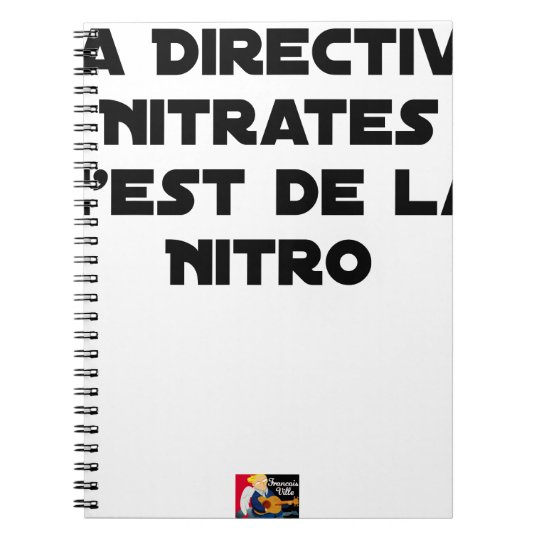 The Directive Nitrates, it is of Nitro - Plays of Notebooks