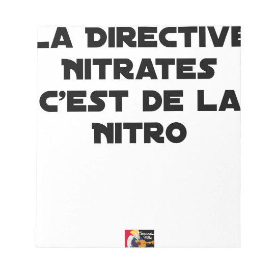 The Directive Nitrates, it is of Nitro - Plays of Notepad