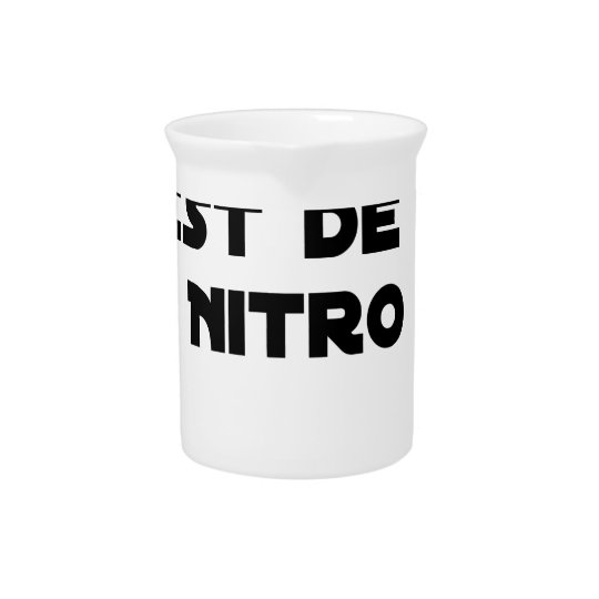 The Directive Nitrates, it is of Nitro - Plays of Pitcher