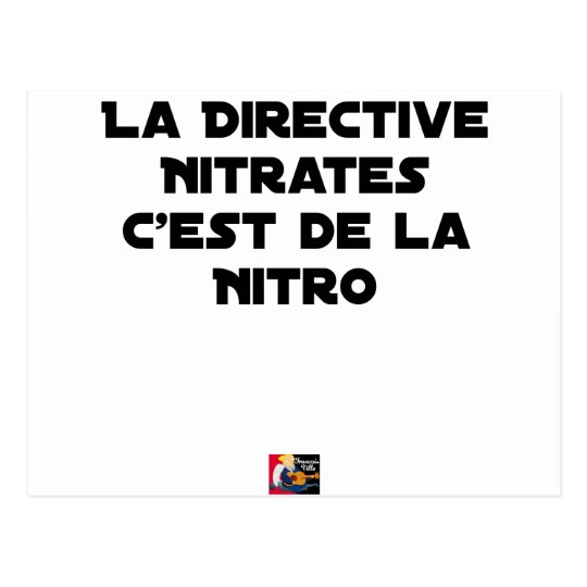 The Directive Nitrates, it is of Nitro - Plays of Postcard
