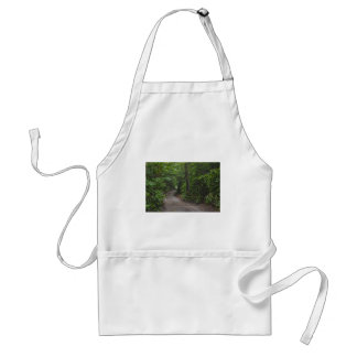 The Dirt Road in summer Standard Apron