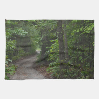The Dirt Road in summer Towels