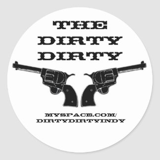 The Dirty Dirty stickers
