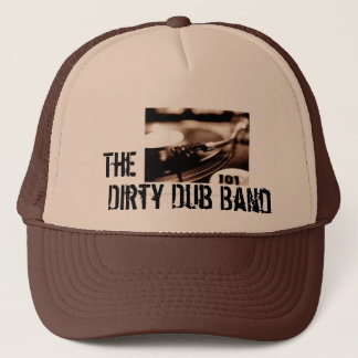 The Dirty Dub Band scratch Hat - Customized