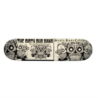 The Dirty Dub Band Skate Skate Deck