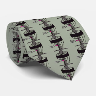 The disc golf all over mens neck tie