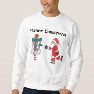 The disc golf ugly Christmas sweatshirt
