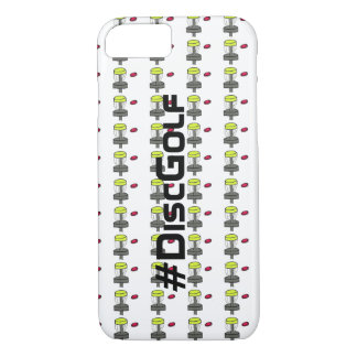 The #DiscGolf iPhone 7 or 6S case phone cover