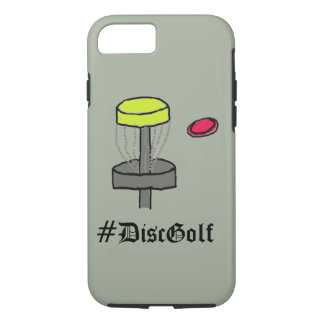 The #DiscGolf Iphone case disc golf phone cover