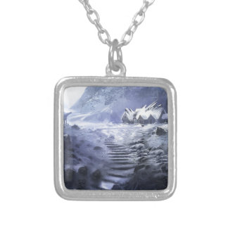 The Discovery Of A New Civilization Silver Plated Necklace