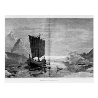 The Discovery of Greenland Postcard