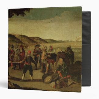 The Dispute over the Golden Baton Vinyl Binder
