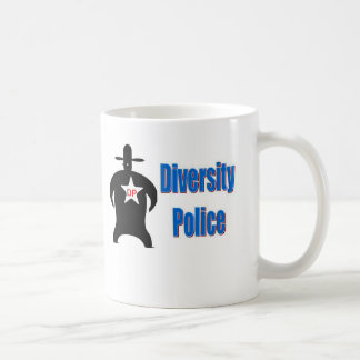 The Diversity Police Classic White Coffee Mug
